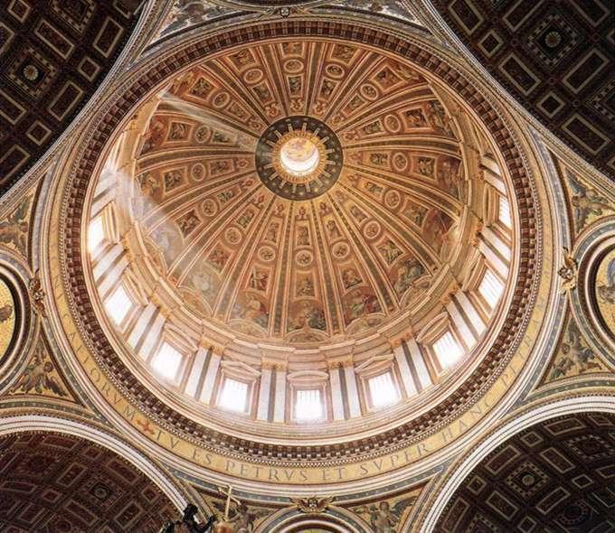 купола изображены четыре