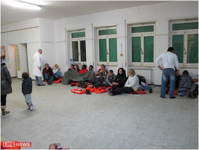Туристы отметили, что помощь была организована крайне плохо