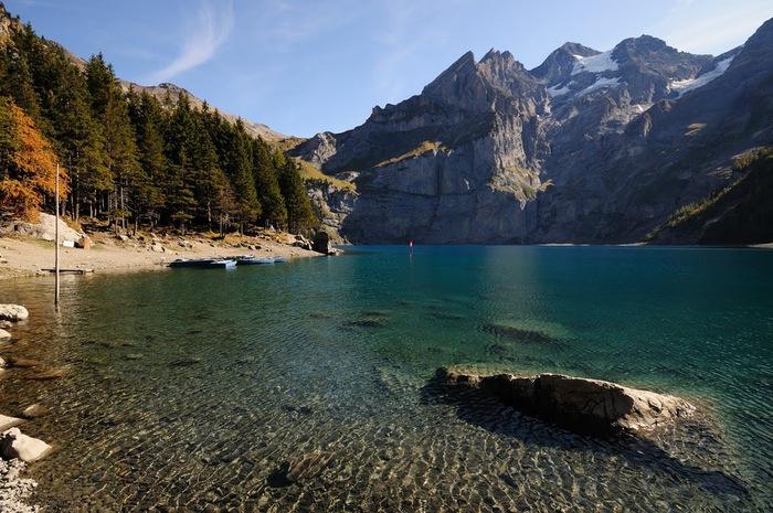 Озеро Oeschinensee 16217