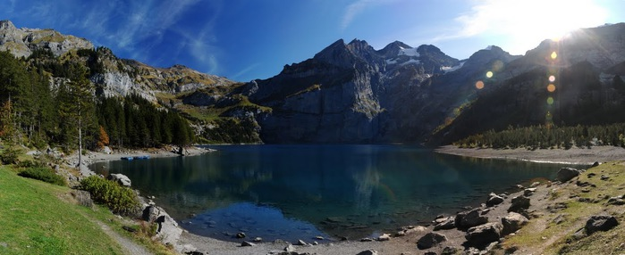 Озеро Oeschinensee 73905