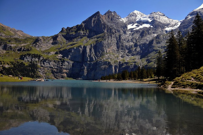 Озеро Oeschinensee 85523