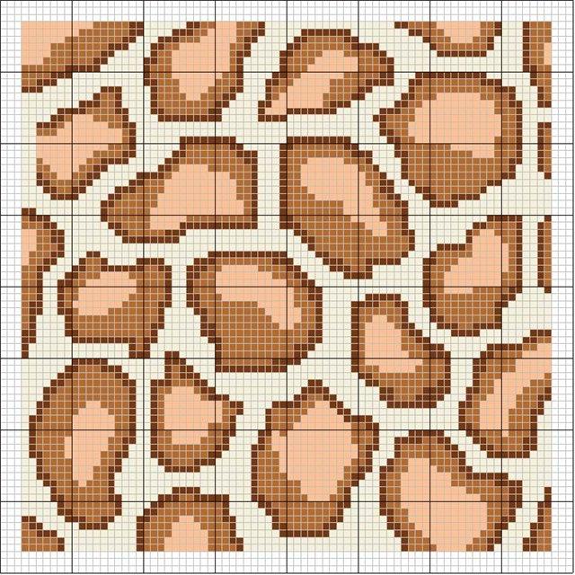 Часть 11 - схема вышивки ручек