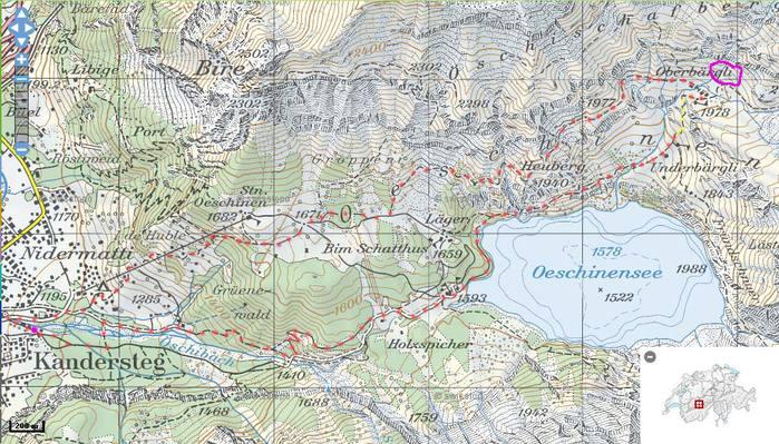 Озеро Oeschinensee 95878