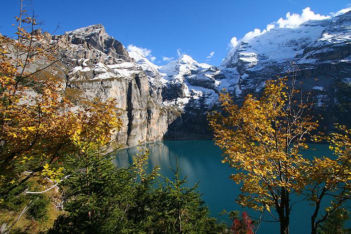 Озеро Oeschinensee 64714