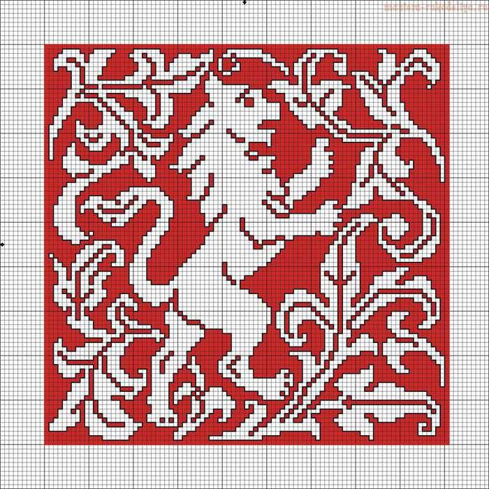 Le Filet Brode - 114 modeles - Leon_pattern (700x700, 123Kb)