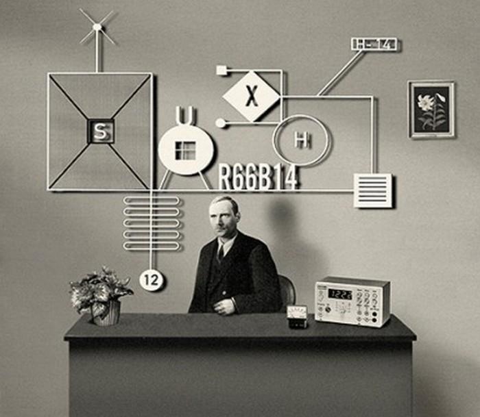 Выразительный офис - фотографии Ruud Van Empel