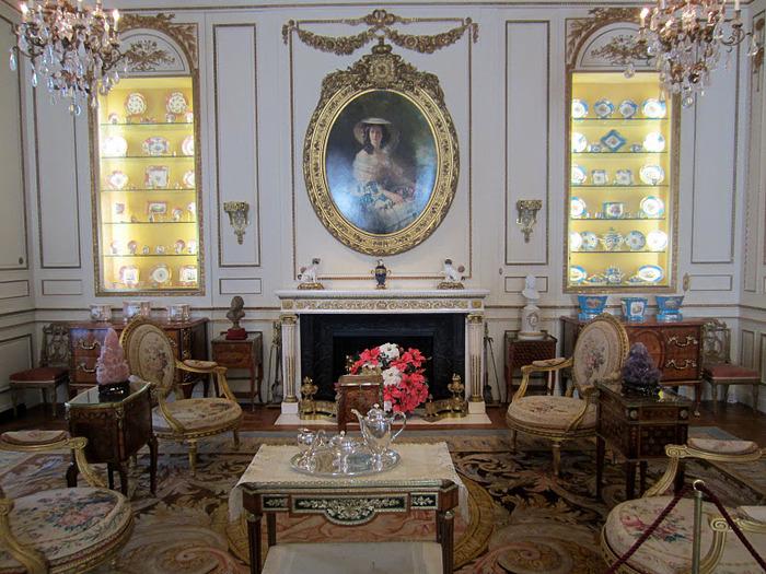 дом-музей Сады Хилвудa, Пенсильвания, США. 44657