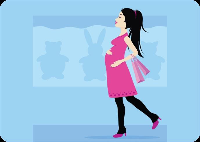 Happy_shopping_pregnant_woman (689x489, 155Kb)