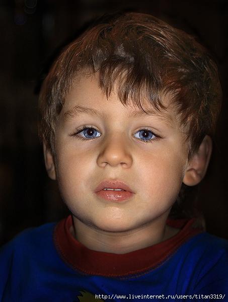 Мальчик с синими глазами (453x600, 205Kb)