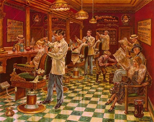 Lee_Dubin-Barber Shop (600x476, 125Kb)