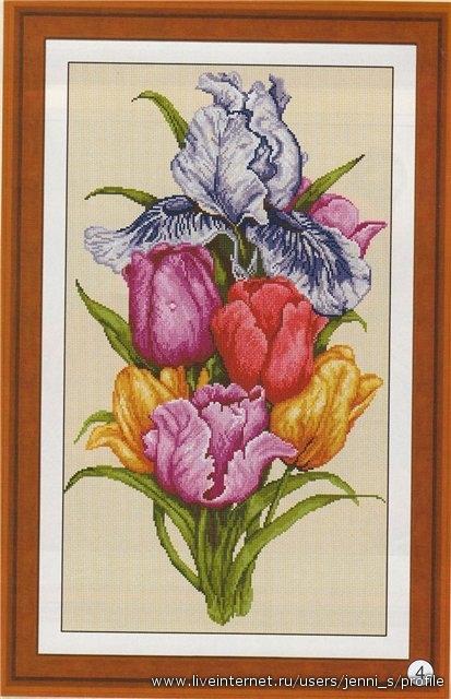 тюльпаны (413x640, 159Kb)