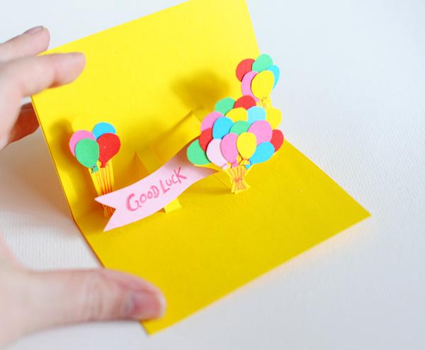 Как сделать открытку к дню рождения своими руками фото