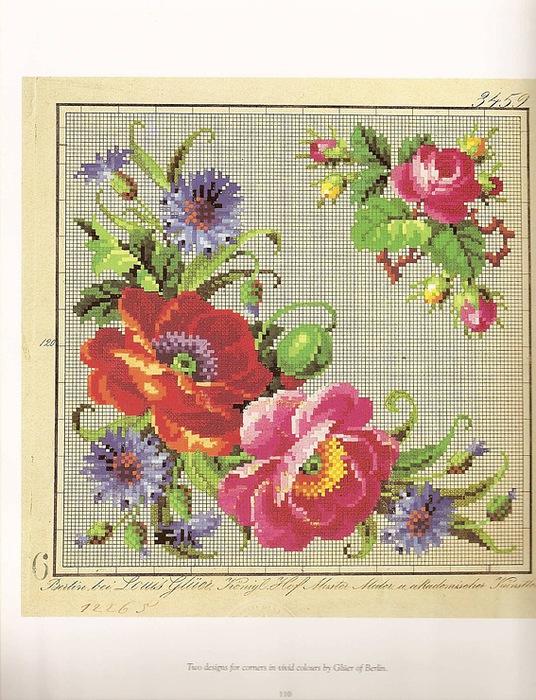Вышивка крестом схемы старые фотографии