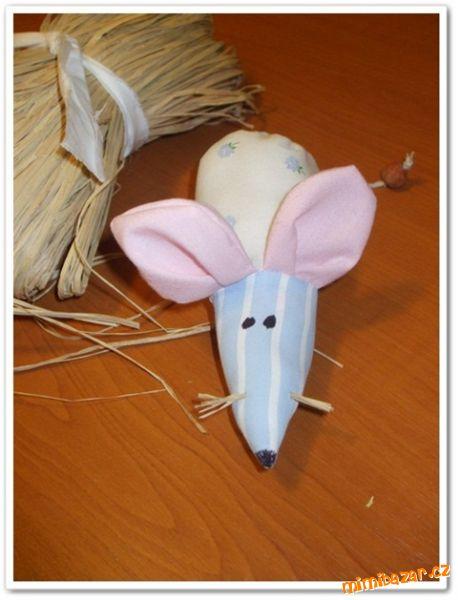 Как сделать крысу лариску из ткани 85