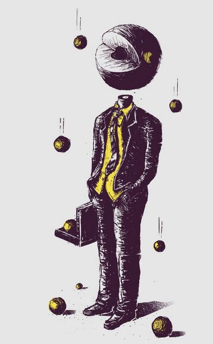 Устрашающий сюрреализм в иллюстрациях Norman Duenas