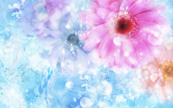 Сказочные цветы картинки 1