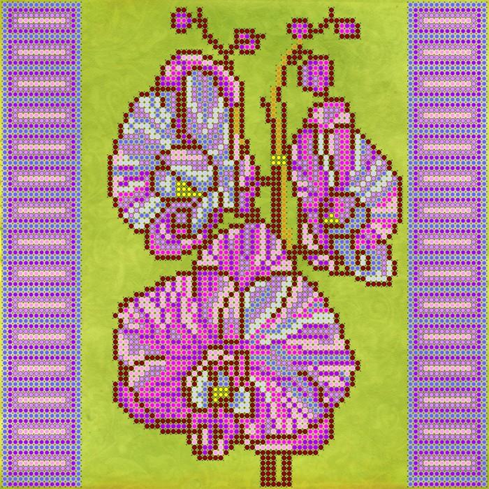 Схема вышивка бисер орхидея 523