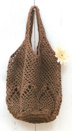 вязание крючком сумки