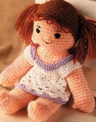 Шагающая кукла связанная