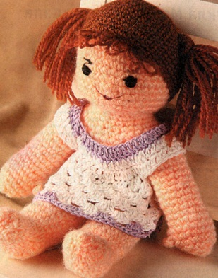 Вязание Куклы Крючком.