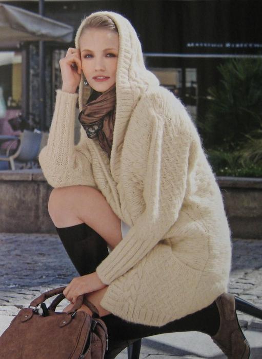 Вязание пальто Giaccone, Mani