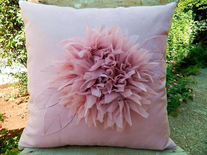 Цветы подушки декоративные подушки своими руками - Solbatt.ru