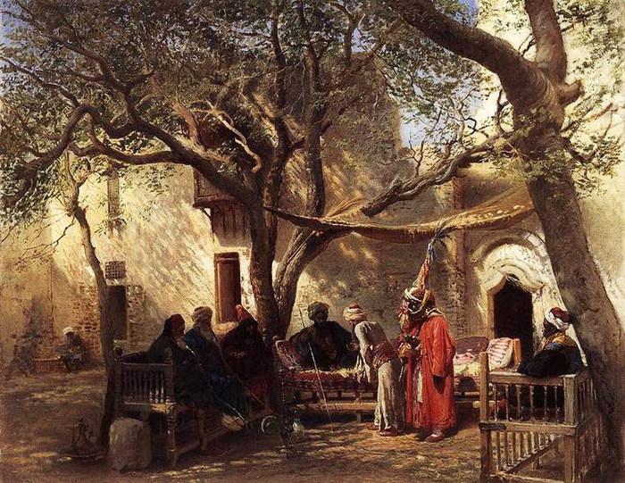 Дервиши в Каире. 1875 (700x541, 178Kb)