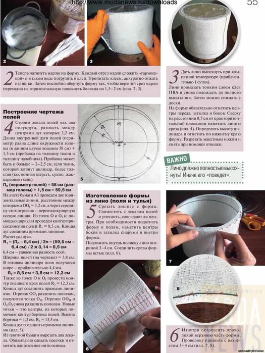 Как сделать шляпу цилиндр самому