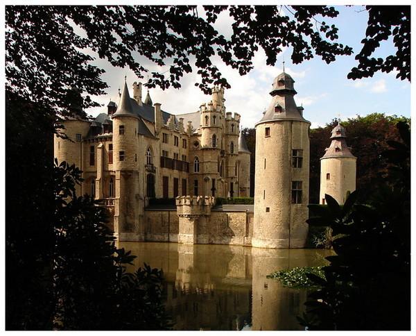 Замок Форселаар, Бельгия (600x484, 119Kb)