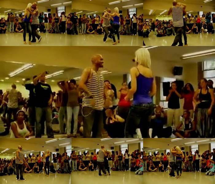 Бачата. Прекрасный танец красивой попой. Видео