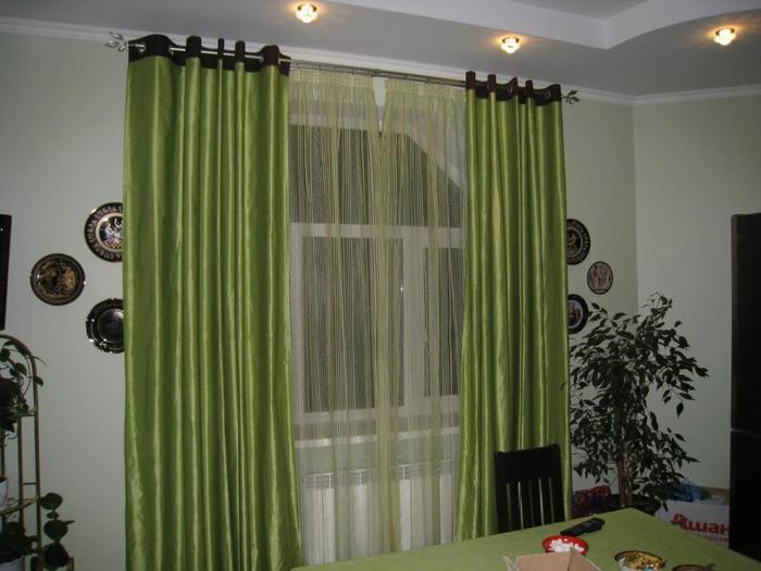 пошив штор схемы.  Интерьер комнат.