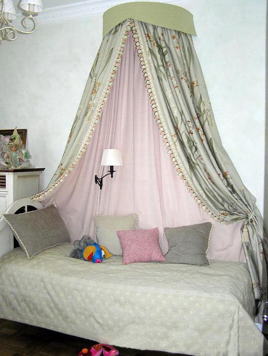 Шторка для детской кроватки своими руками 35