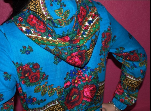 Блузка Из Платков В Омске