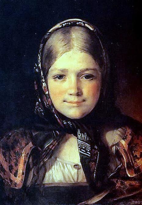 Maksimov Krestyanskaya Devushka (465x672, 256Kb)