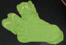 Вязание ажурные резинки для носков