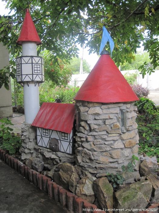 Декоративный замок своими руками 173