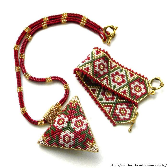 мозаичное плетение из бисера схемы - Всемирная схемотехника.