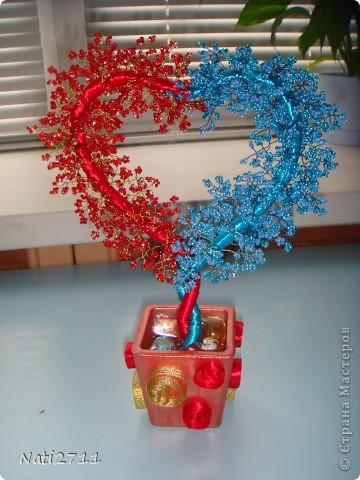 Сердечное дерево+МК Бисер