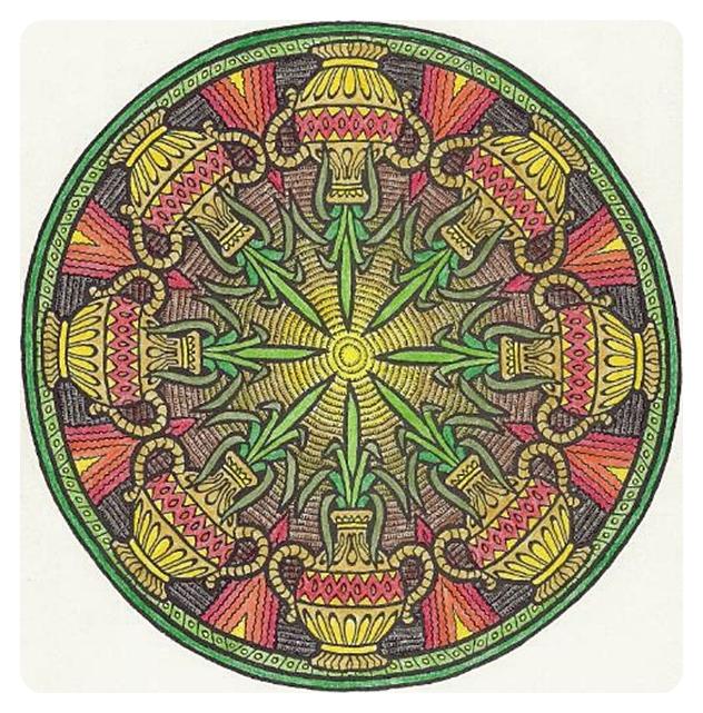 Мистические Мандалы. Книжка-раскраска. 52841