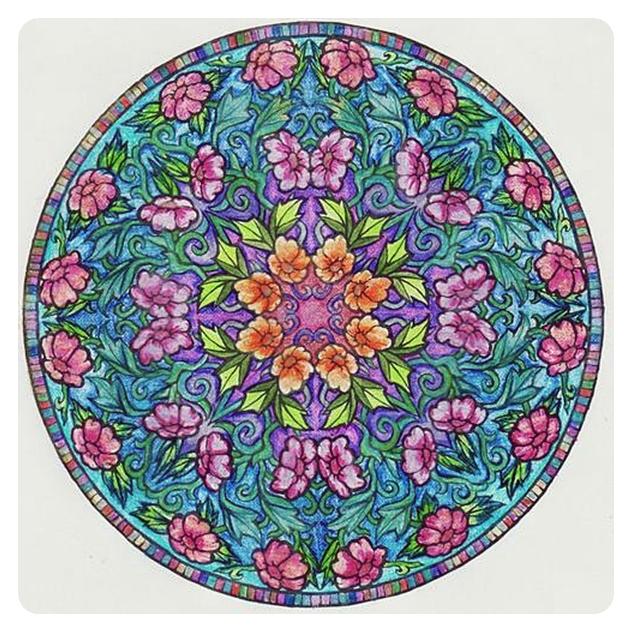 Мистические Мандалы. Книжка-раскраска. 49824