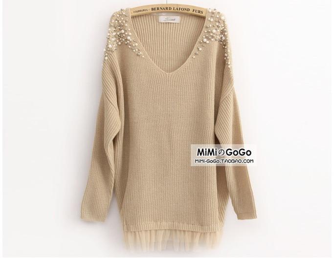Декор пуловера