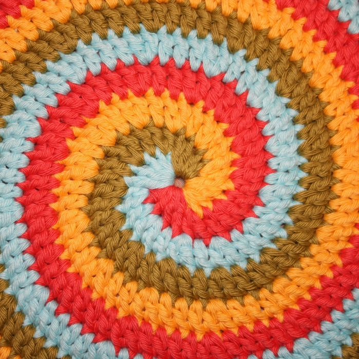 钩针各种桌垫、(或挂饰) - maomao - 我随心动
