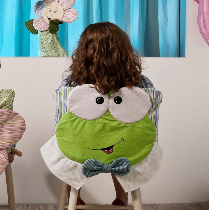 Şablonlu Sandalye Süsleme