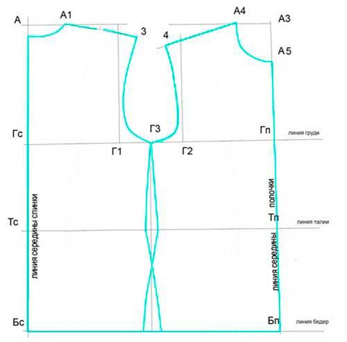 Как построить выкройку для жилетки мальчику фото 718