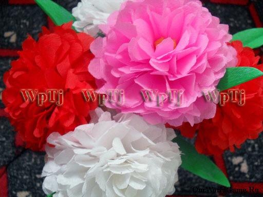 Мастер класс пионы цветы из бумаги