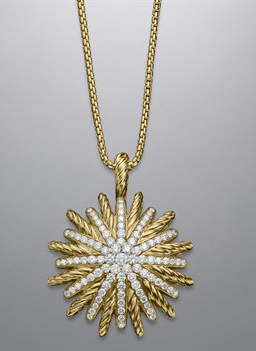 David Yurman Pave Diamonds Starburst Necklace (256x351, 64Kb)