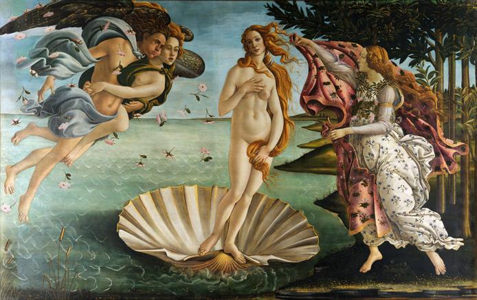 Рождение Афродиты (Сандро Боттичелли)