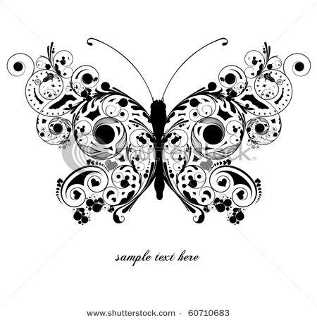 stock-vector-abstract-floral-butterfly-60710683 (450x454, 55Kb)