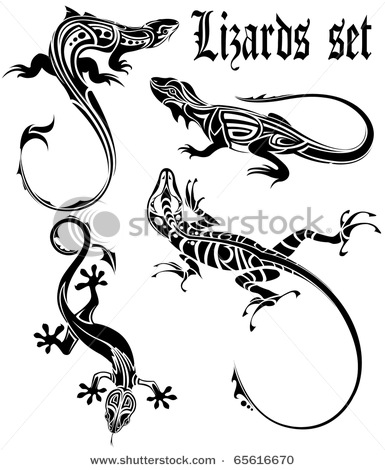 stock-vector-lizards-set-tattoo-65616670 (385x470, 52Kb)