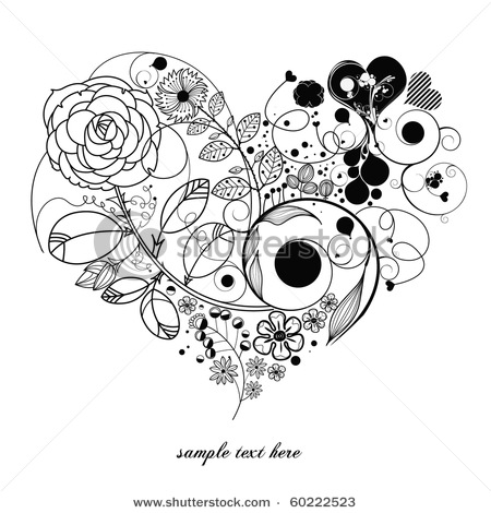 stock-vector-love-vintage-flower-60222523 (450x470, 61Kb)